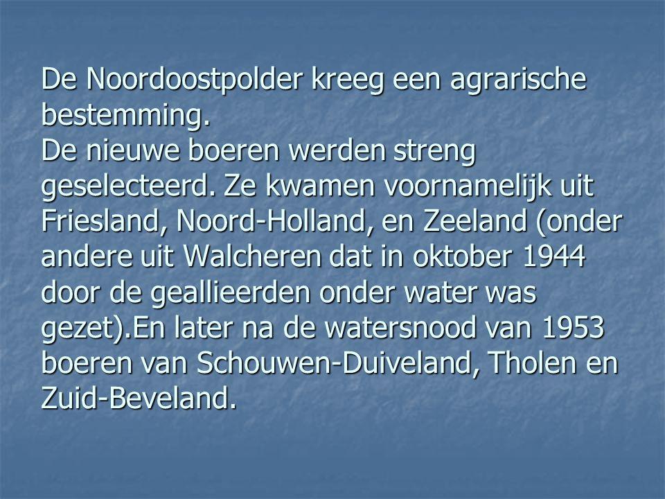 Bij de latere aanleg van Oostelijk Flevoland en Zuidelijk Flevoland heeft men daarom besloten de polders geheel te omringen met een dijk en met randme