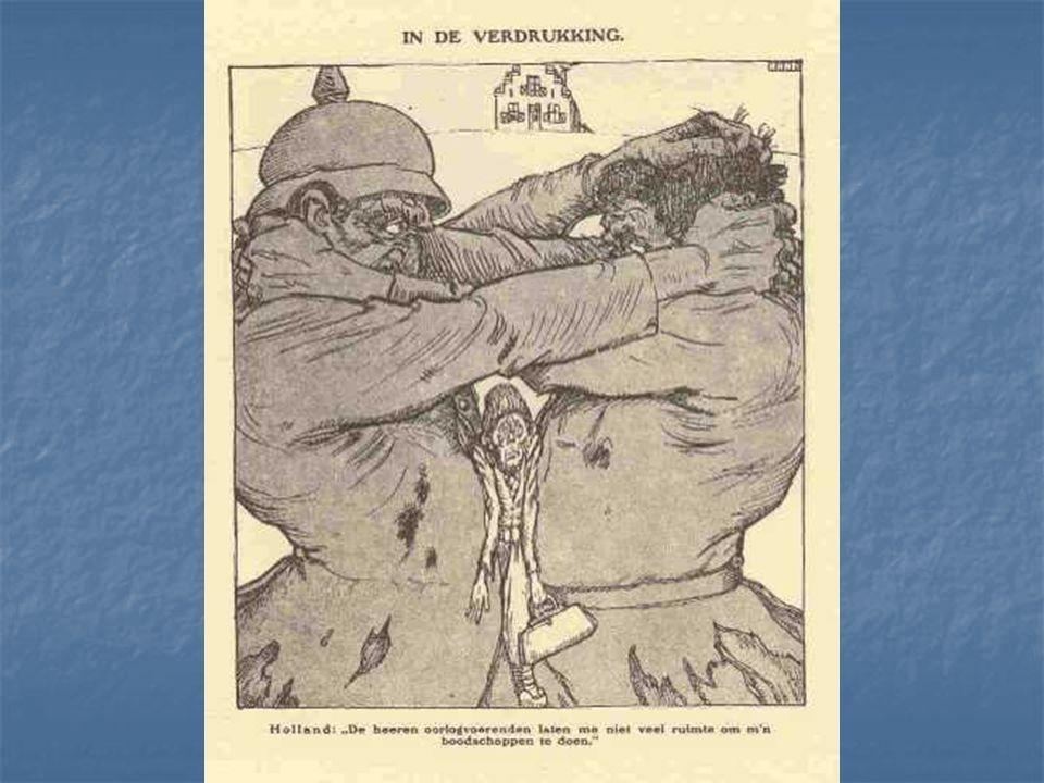 Eerste Wereldoorlog In 1914 brak de Eerste Wereldoorlog uit. Nederland bleef neutraal. De aanvoer van levensmiddelen en veevoer van overzee, met name