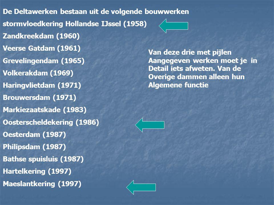 Doelen: Dijken op deltahoogte Dijken op deltahoogte Afsluiten van zeearmen en inhammen Afsluiten van zeearmen en inhammen Kustlijnverkorting Kustlijnv