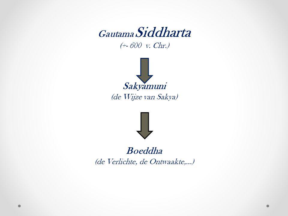 Gautama Siddharta (+- 600 v.