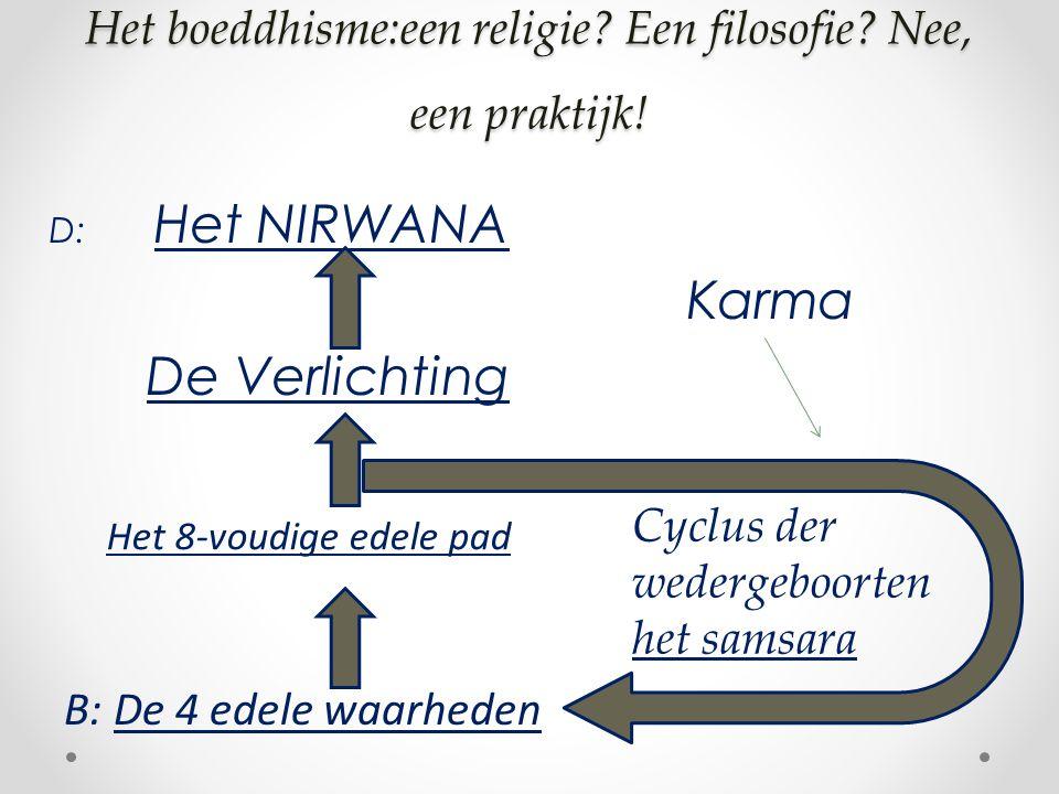 Het boeddhisme:een religie. Een filosofie. Nee, een praktijk.