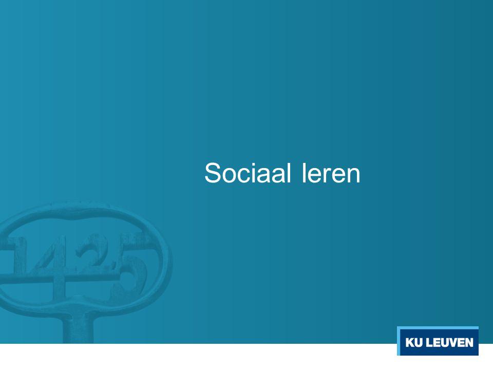 Sociaal leren