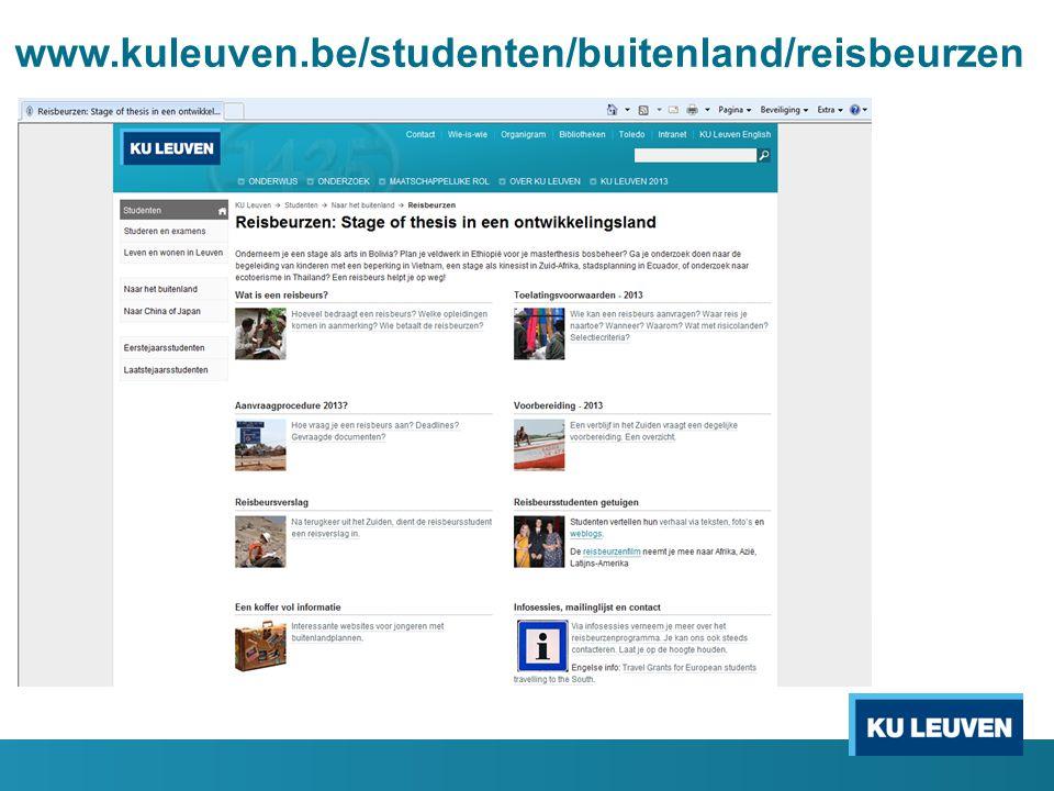 www.kuleuven.be/studenten/buitenland/reisbeurzen