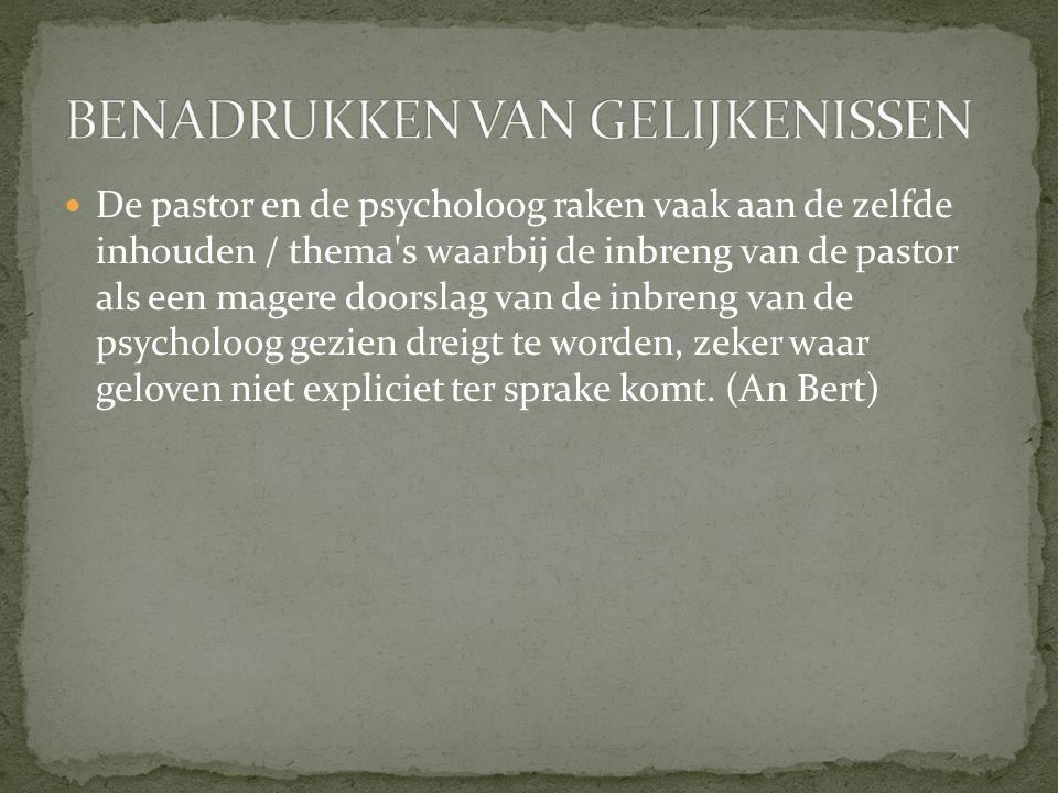 Er groeit een nieuwe gevoeligheid voor spiritualiteit, bij patiënten, maar ook bij psychologen.