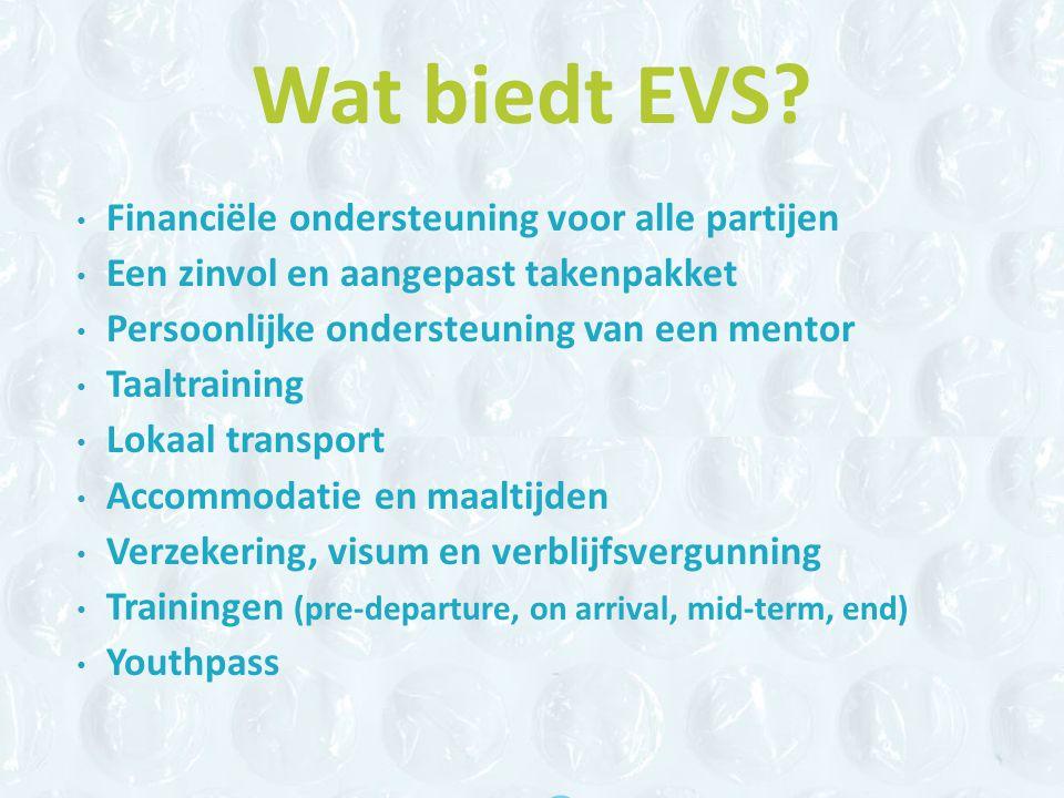Wat biedt EVS.