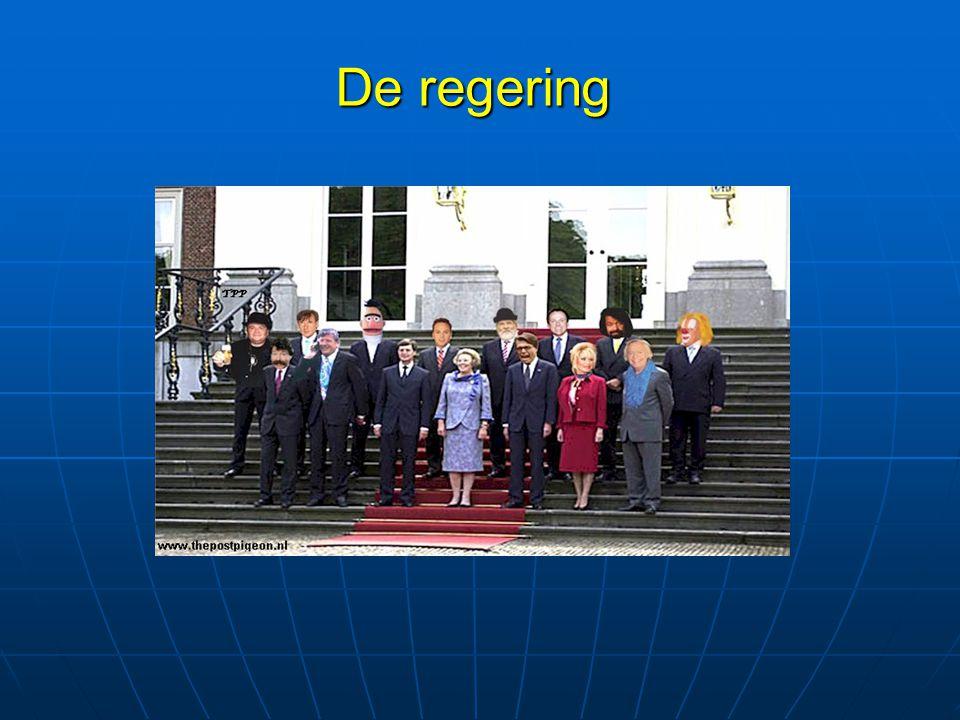 Balkenende II Regering= ministers + koningin.