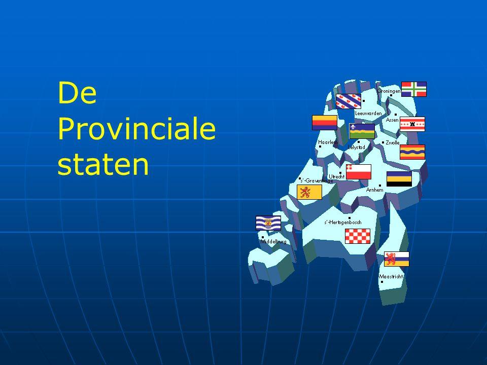 De Provinciale staten