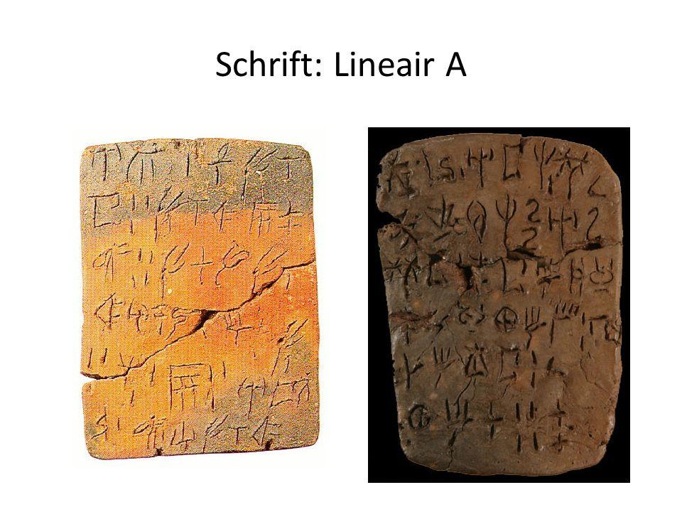 Schrift: Lineair A
