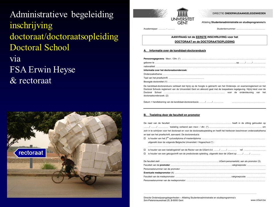 Doctoraatsopleiding Vrijblijvend - steeds in overleg met de promotor Voordeel.