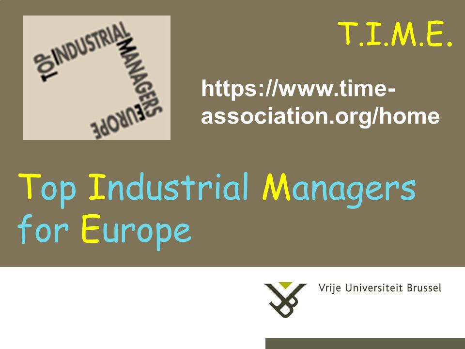 2-9-201413 Verwezenlijkingen van IR-VUB in T.I.M.E.:  in uit Ecole Centrale LilleV.
