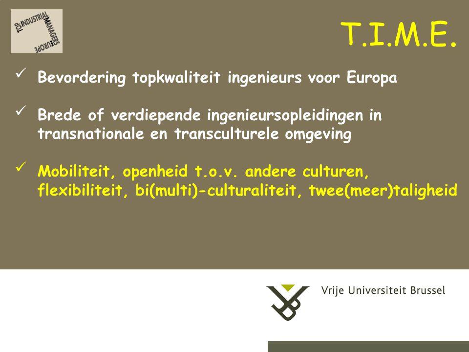 2-9-20144Herhaling titel van presentatie Bevordering topkwaliteit ingenieurs voor Europa Brede of verdiepende ingenieursopleidingen in transnationale en transculturele omgeving Mobiliteit, openheid t.o.v.