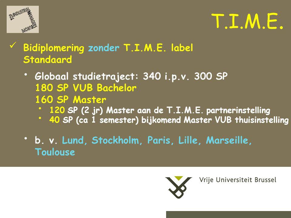 2-9-201418Herhaling titel van presentatie Start tijdig met de voorbereiding (begin er reeds aan in 2BA) Contacteer facultaire T.I.M.E.