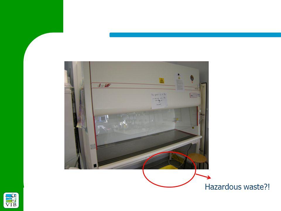 Hazardous waste?!