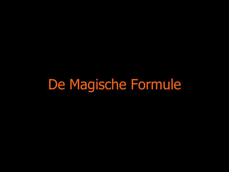 De Magische Formule