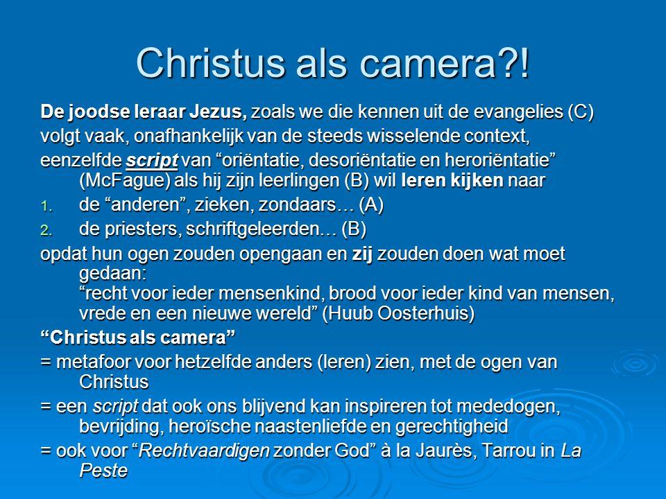 Christus als camera?.