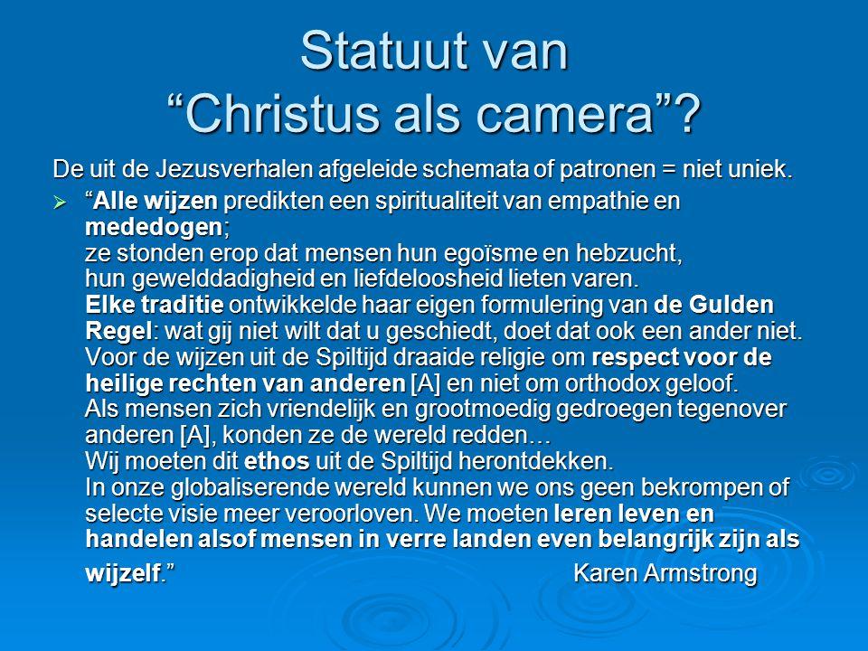 Statuut van Christus als camera .