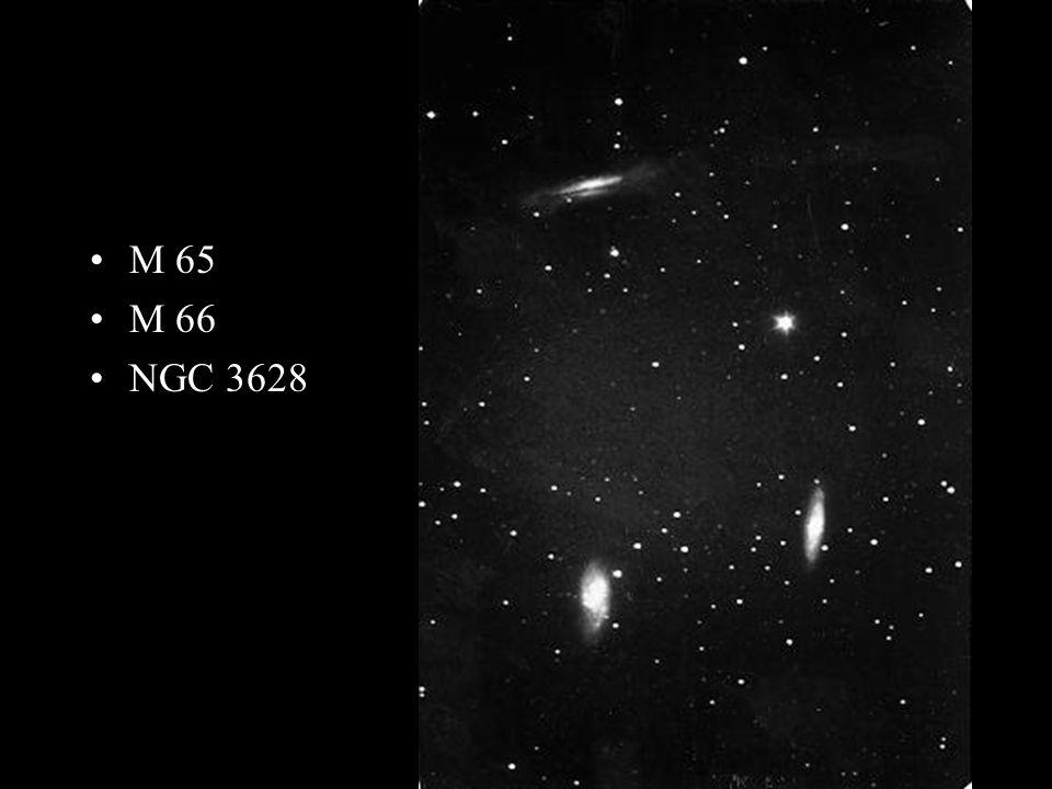 M 65 M 66 NGC 3628