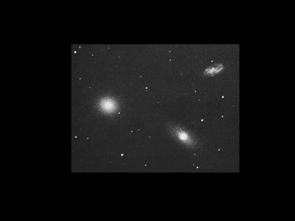 Het hoofdhaar van Berenice M3 M53 M64 The Black-Eye Galaxy