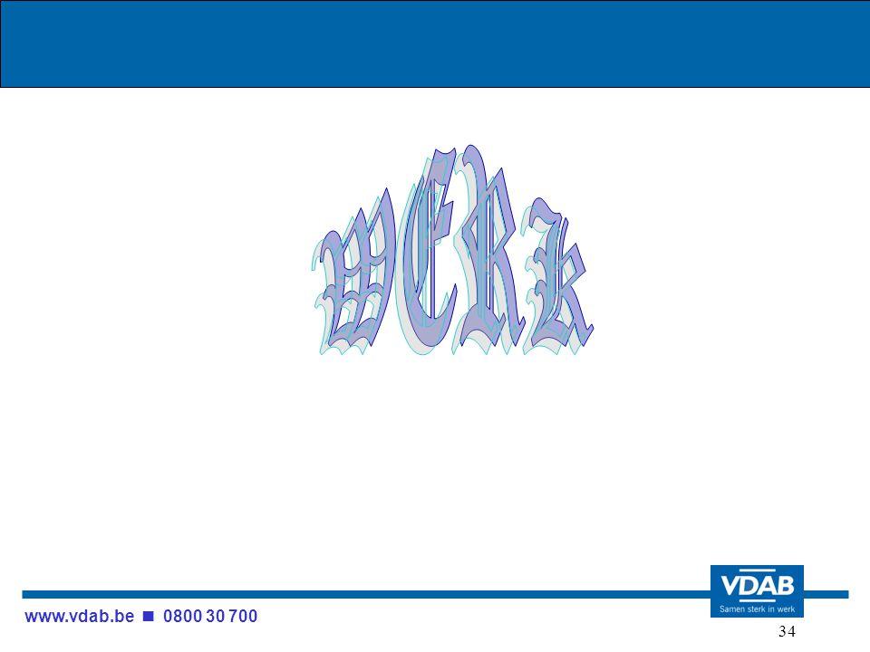www.vdab.be 0800 30 700 34