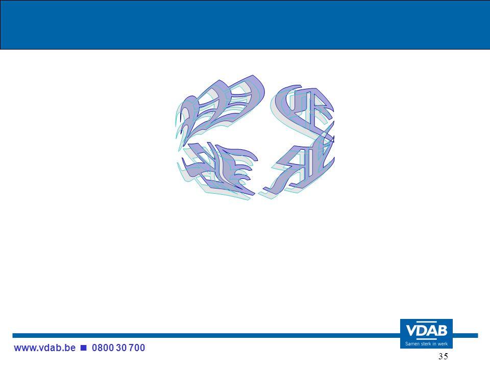 www.vdab.be 0800 30 700 35