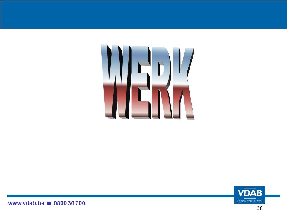 www.vdab.be 0800 30 700 38