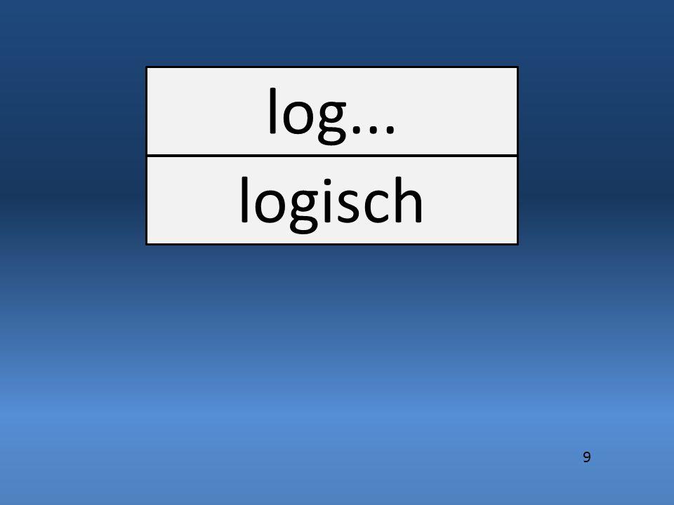log... logisch 9