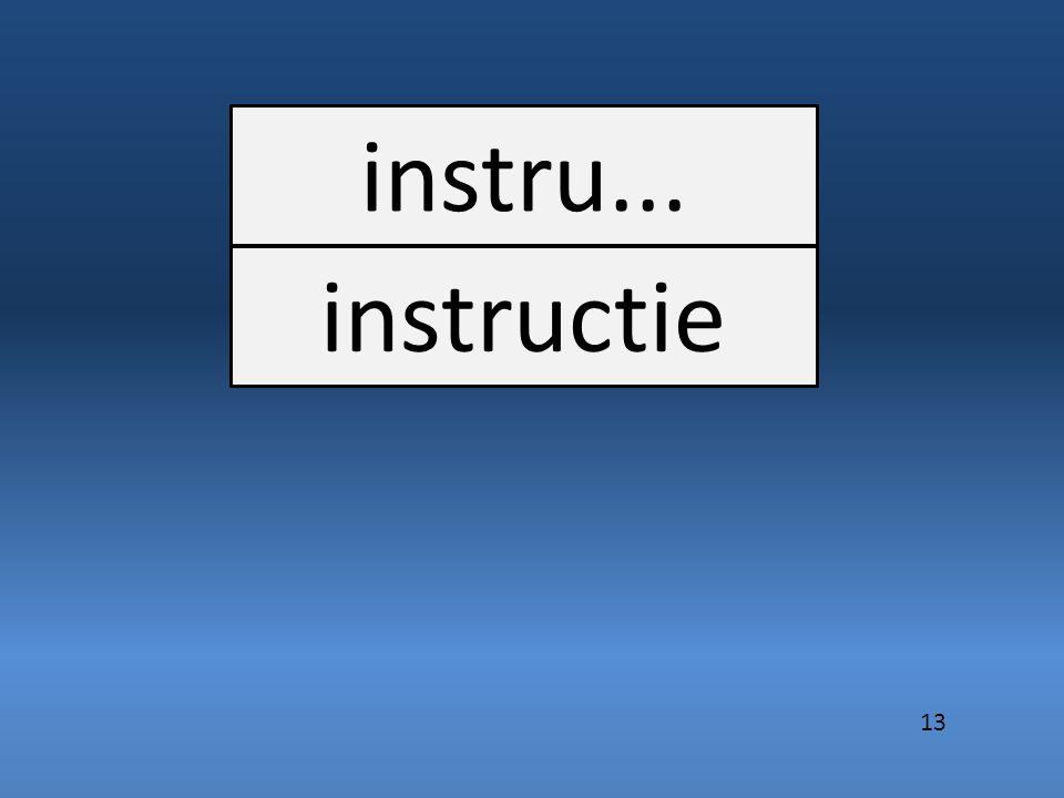 instru... instructie 13