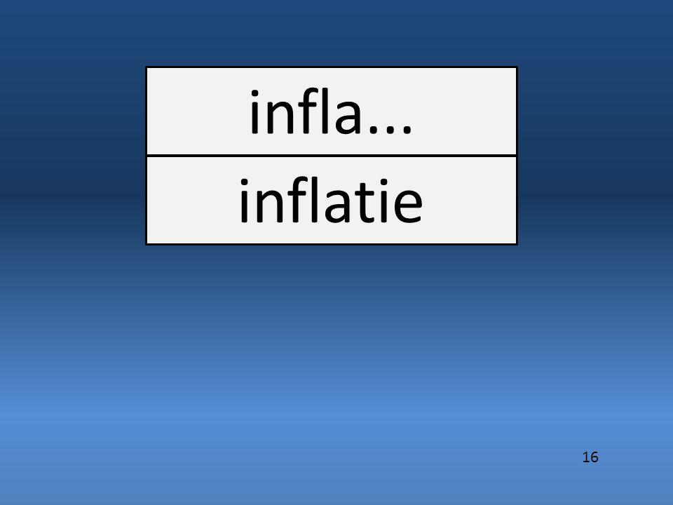 infla... inflatie 16