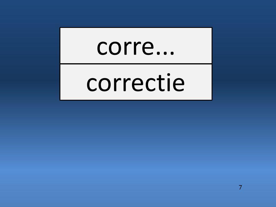 corre... correctie 7