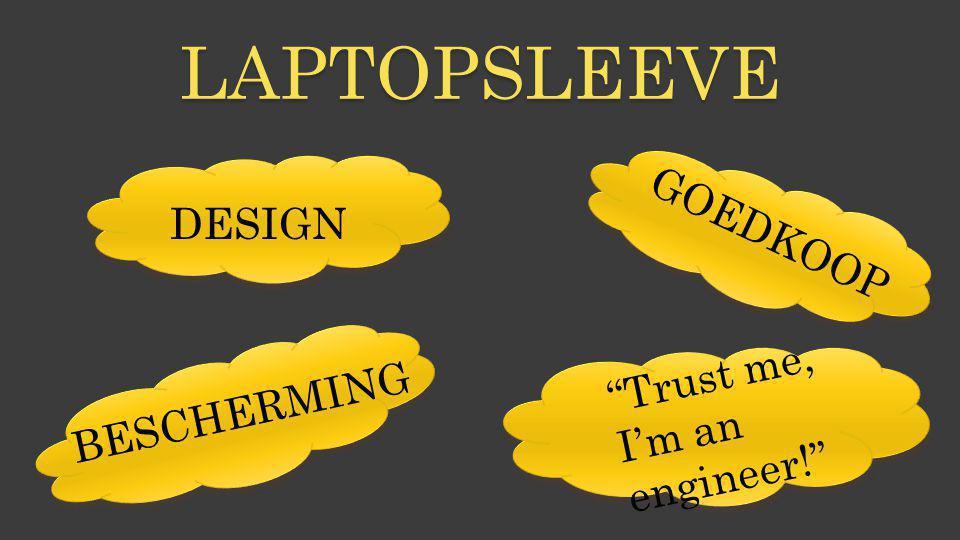 "LAPTOPSLEEVE DESIGN GOEDKOOP BESCHERMING ""Trust me, I'm an engineer!"""