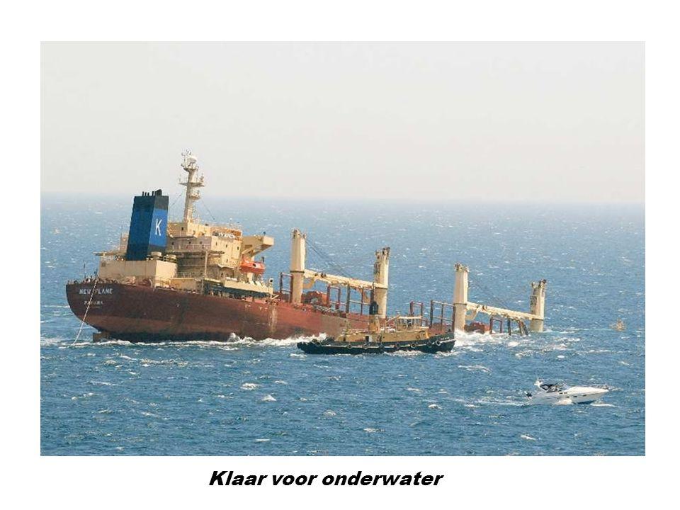 Klaar voor onderwater