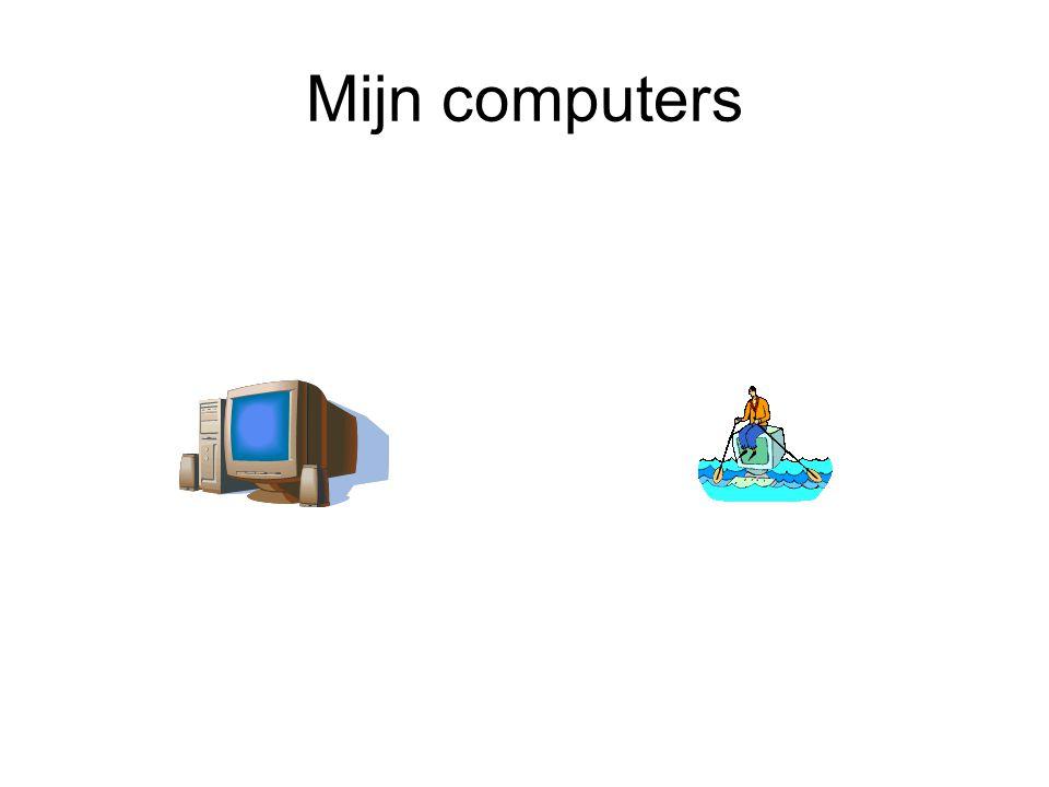 Ict is mijn taak PC (Personal computer) Het is een computer met een eigen processor, geheugen, harddisk, diskettestation, enzovoort. De pc kan zelfsta