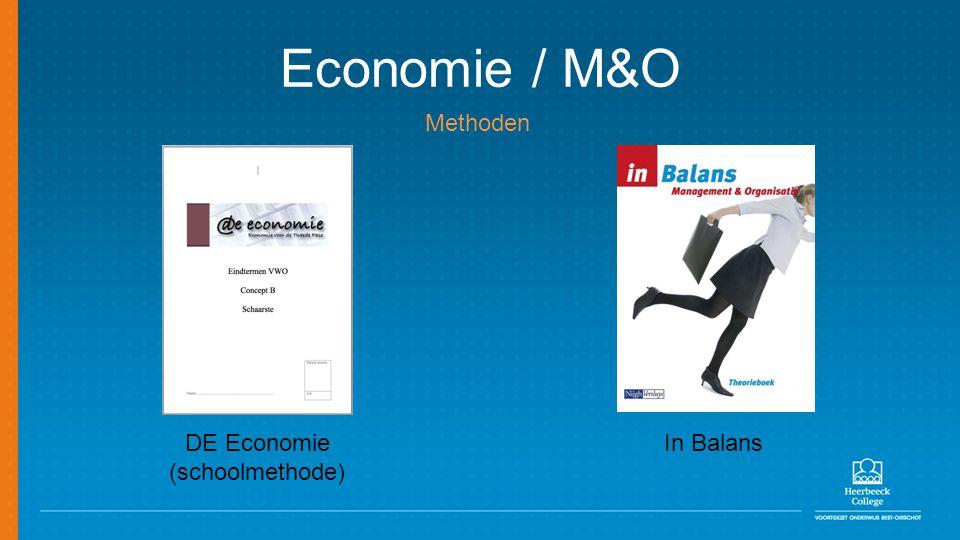 Economie / M&O DE Economie (schoolmethode) In Balans Methoden