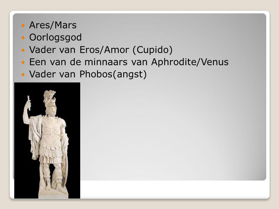 Hera/Juno Vrouw en zuster van Zeus/Jupiter Moeder van Ares/Mars en andere godheden.