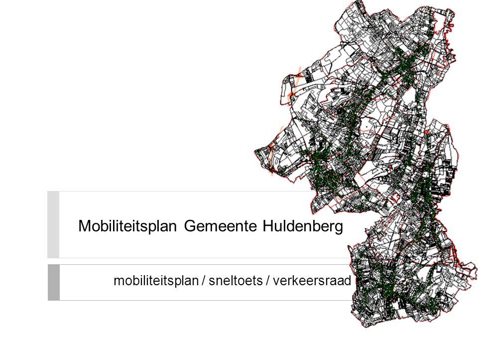 Mobiliteitsplan Gemeente Huldenberg mobiliteitsplan / sneltoets / verkeersraad