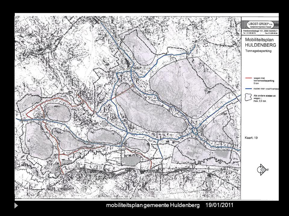 Werkdomein B: Netwerken per modus vrachtroutes 19/01/2011mobiliteitsplan gemeente Huldenberg