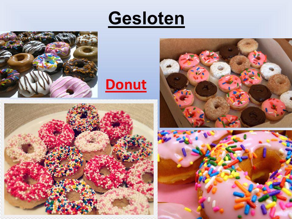 Gesloten Donut