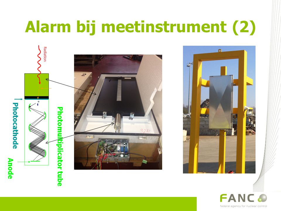Alarm bij meetinstrument (2)
