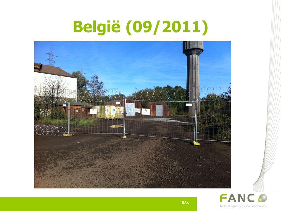 België (09/2011) 8/x
