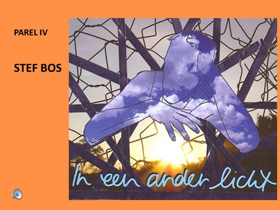 parel IV 2012-2013 Stef Bos21 Het Lied van God: 'wat ik niet ben'...