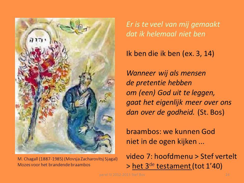 """parel IV 2012-2013 Stef Bos23 Het Lied van God: 'wat ik niet ben' Varenka Paschke God (""""in een ander licht"""")(2010) Die lig en donker van die bestaan:"""