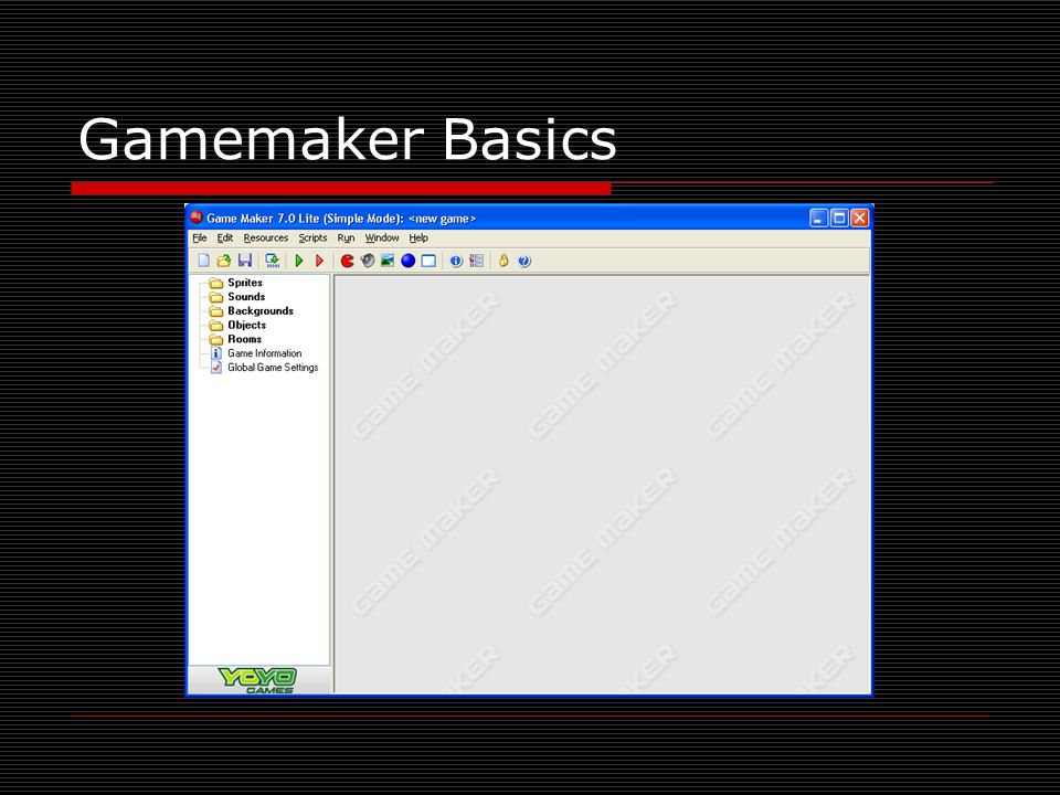 Gamemaker Basics