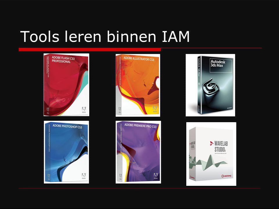 Tools leren binnen IAM