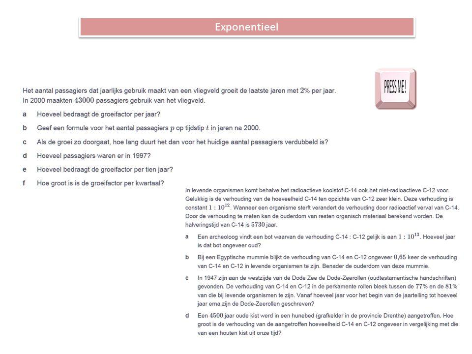 Exponentieel