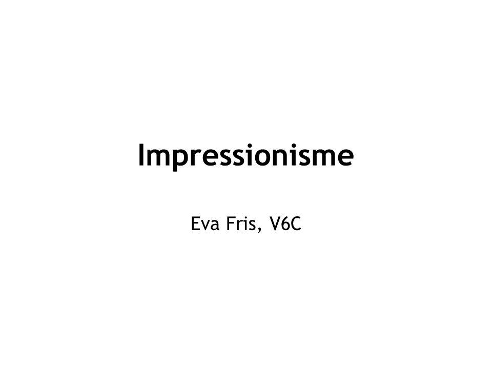 Impressionisme Eva Fris, V6C
