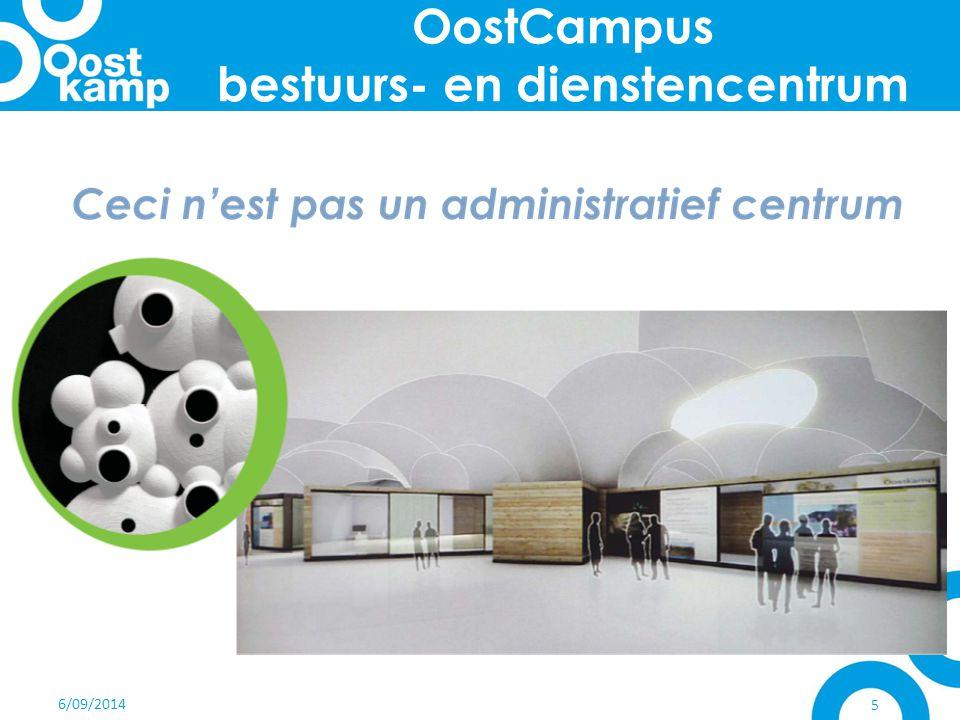 6/09/2014 6 aanpak 2006: Coca Cola Enterprises verlaat Oostkamp grote KANS voor de gemeente & OCMW nieuwe werking introduceren centralisatie diensten op 1 locatie
