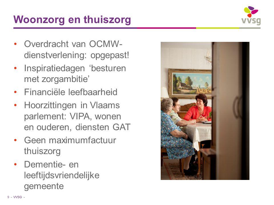 VVSG - Overdracht van OCMW- dienstverlening: opgepast.