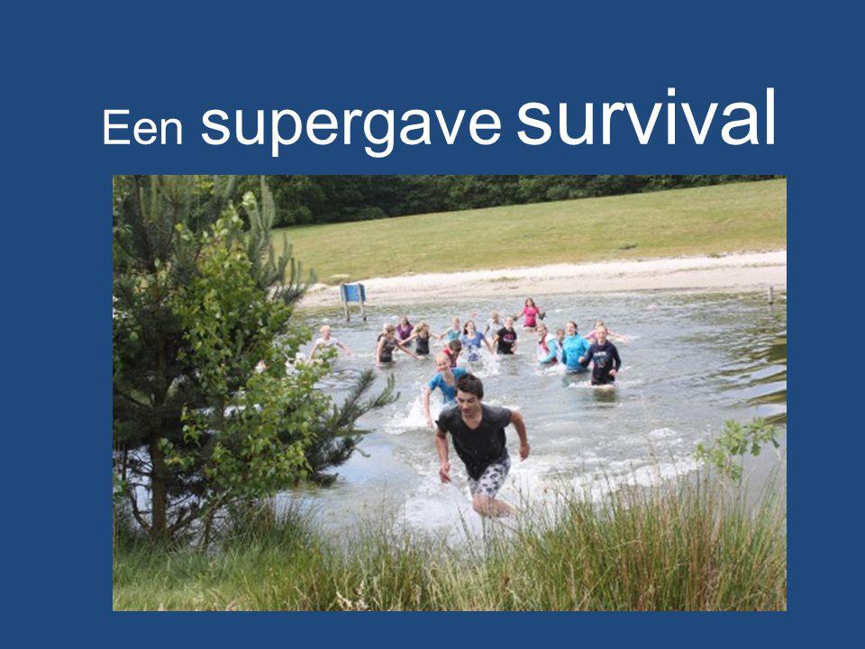 Een supergave survival