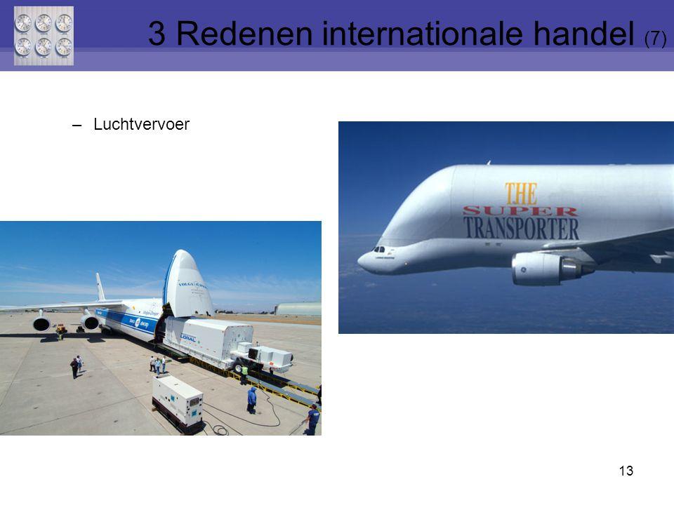–Luchtvervoer 13 3 Redenen internationale handel (7)