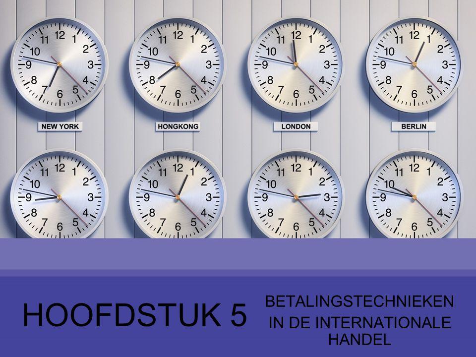 Bank exporteur REMITTERENDEBANK Bank koper INCASSERENDEBANK ExporteurKoper 2 7 6 4 3 5 1 32 4.2 Werking 4 Documentair incasso (3)